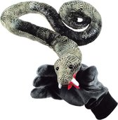 Beleduc Slang Speelhandschoen - Handpop - Groen