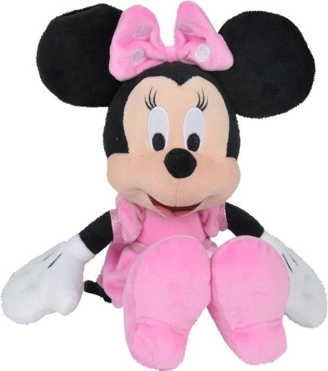 Disney Pluche Minnie Mouse 90th Anniversary 22 cm