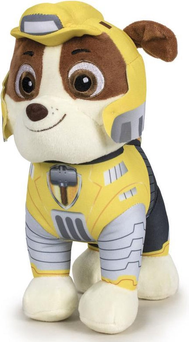 Paw Patrol Mighty Pups Rubble 27cm