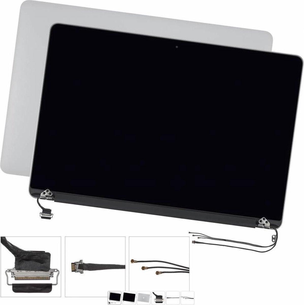 Lcd-scherm montage voor Apple MacBook Pro Retina 15 A1398 2015 6 pins 100% (zwart)