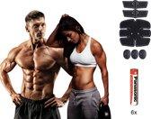 Buikspiertrainer - INCLUSIEF GRATIS BATTERIJEN - ems trainer - Ab trainer - ems - Sixpack - Arm Trainer - Buikspiertrainer - Unisex - Full Body Workout Device - Elektrisch - Buikspier - Tril apparaat -