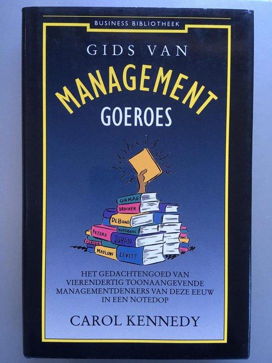 GIDS VAN MANAGEMENTGOEROES - Carol Kennedy pdf epub