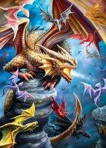 Puzzel 1000 stukjes-Anne Stokes-Dragon