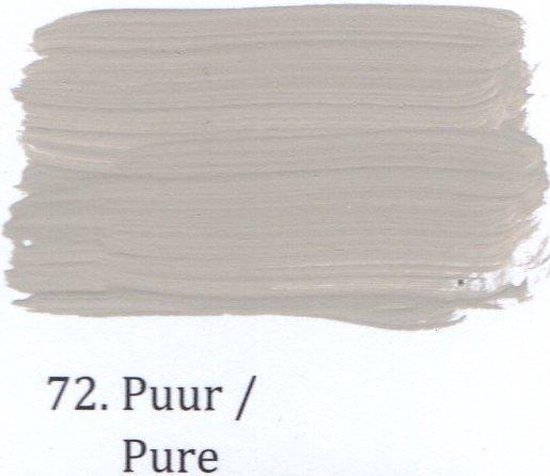 Vloerverf zijdeglans WV 4 Liter 72- Puur
