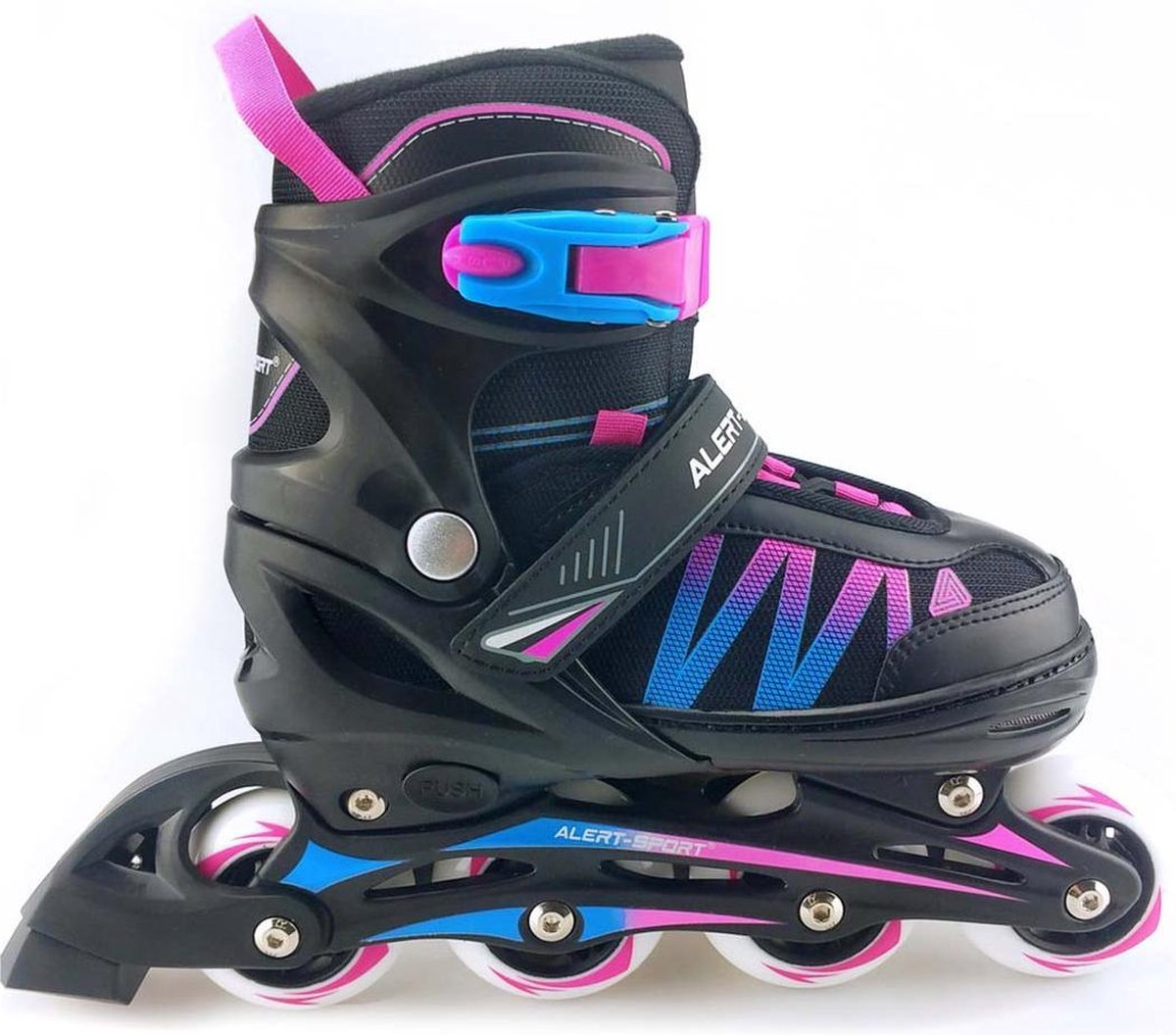 Skates Roze 31-34 - Skates Meisjes - ALERT