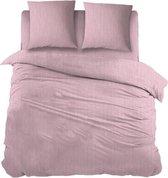 Snoozing Brigitte - Dekbedovertrek - Lits-jumeaux - 270x200/220 cm + 2 kussenslopen 60x70 cm - Pink