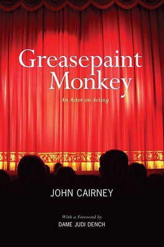 Omslag van Greasepaint Monkey