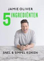 Boekomslag van 'Jamie Oliver 5 ingrediënten'