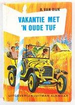 Boek cover Vakantie met een oude tuf van Dyk