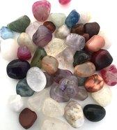 Edelstenen trommelsteentjes voor de kinderen 80 gram