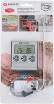 Alpina digitale vleesthermometer + timer