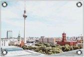 Tuinposter –Berliner Dom - Berlijn - Duitsland -60x40  Foto op Tuinposter  (wanddecoratie voor buiten en binnen)