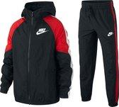 Nike Trainingspak - Maat 116  - Unisex - zwart/rood/wit
