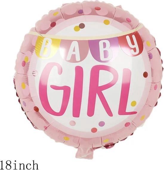 Baby Girl Ballon 18 inch