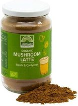 Mattisson / Mushroom Latte Reishi – Cordyceps BIO - 160 gram