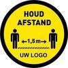 Maatwerk sticker