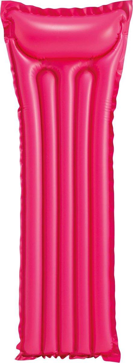 Basic luchtbed 183 cm - roze