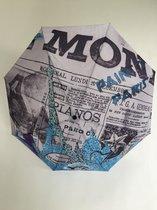 Y Not paraplu opvouwbaar manueel supermini Skyline Paris 55370