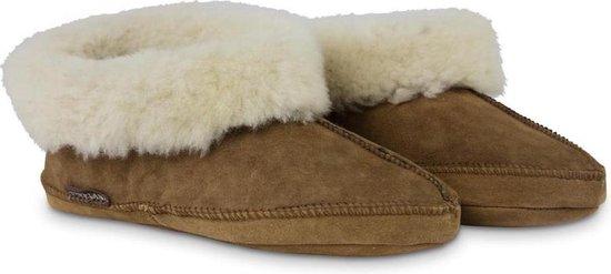 Texelana sloffen en pantoffels voor dames & heren - pantoffel van schapenvacht - model Maya - maat 39