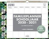 Familieplanner Hobbit familieschoolkalender D1 2020 - 2021 voor maximaal 5 personen (formaat A3+)