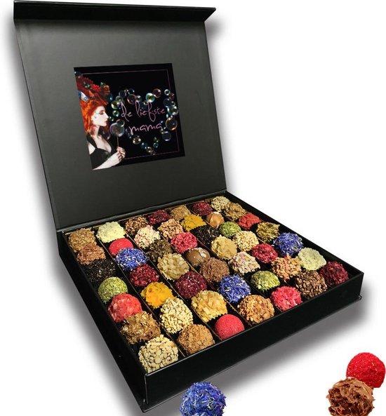 ChocolaDNA cadeau bonbons voor vrouwen- Luxe doos - 49 stuks relatiegeschenk...