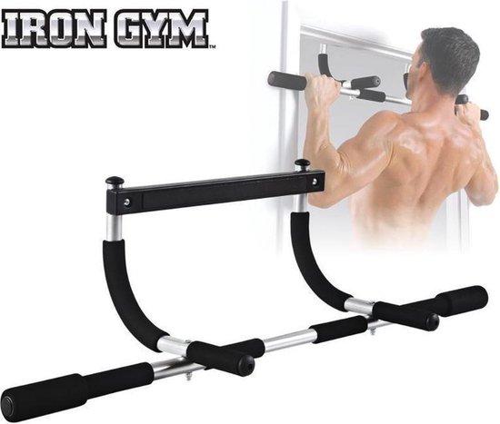 Iron Gym Plus Deurtrainer Optrekstang, Deurtrainer, Fitness