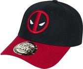 Deadpool Logo Baseball Cap Zwart/Rood