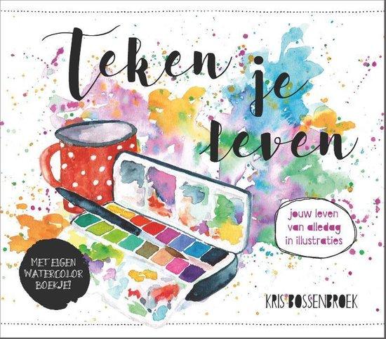 Boek cover Teken je leven van Kris Bossenbroek (Paperback)