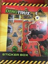DreamWorks DinoTrux Stickerbox >100 zelfklevers