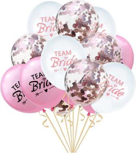 Vrijgezellenfeest  ballonnen set |  Team Bride |Bachelorette Party | Versiering