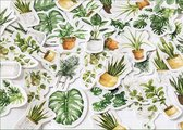 Botanica stickers - Set van 45 stuks - Botanische sticker