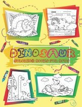 Dinosaur Coloring Books For Boys