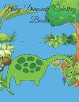 Baby Dinosaur Coloring Books