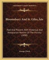 Bloomsbury and St. Gilesa Acentsacentsa A-Acentsa Acentss