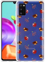 Samsung Galaxy A41 Hoesje Apples and Birds