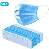 mondkapjes   3 laags   50 stuks  niet medisch   wegwerp mondkapje 