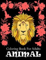 Coloring Book For Adults Animal