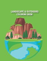 Landscape & Outdoors Coloring Book
