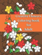 Creative Flowers Coloring Book For Adult