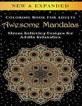 Awesome Mandalas - Adult Coloring Book