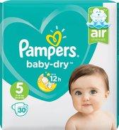 Pampers - Baby Dry Maat 5 - 11-23 Kg - 30 Stuks