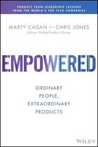 Boek cover Empowered van Marty Cagan (Hardcover)
