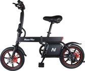 EasyGO Windgoo B20 Elektrische fiets met trapondersteuning - Zwart - 25 km per uur