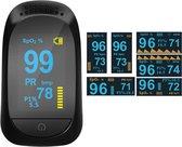 Oximeter professioneel Fingertip - Digitale hartslagmeter - Zuurstofmeter - Digital pulse oximeter - Saturatiemeter
