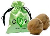 De Groene Cup menstruatiesponsjes - 100% natuurlijke zeespons tampons - 2 stuks