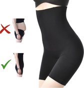 Shapewear dames – Maat XXXL – Zwart – Voor billen, buik en dijen – Corrigerend ondergoed – Waist trainer – Waist shaper – Korset – Corrigerend broekje – Corset – Corrigerende body shapewear – Shapewear voor vrouwen