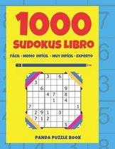 1000 Sudokus Libro - Facil - Medio - Dificil - Muy Dificil - Experto