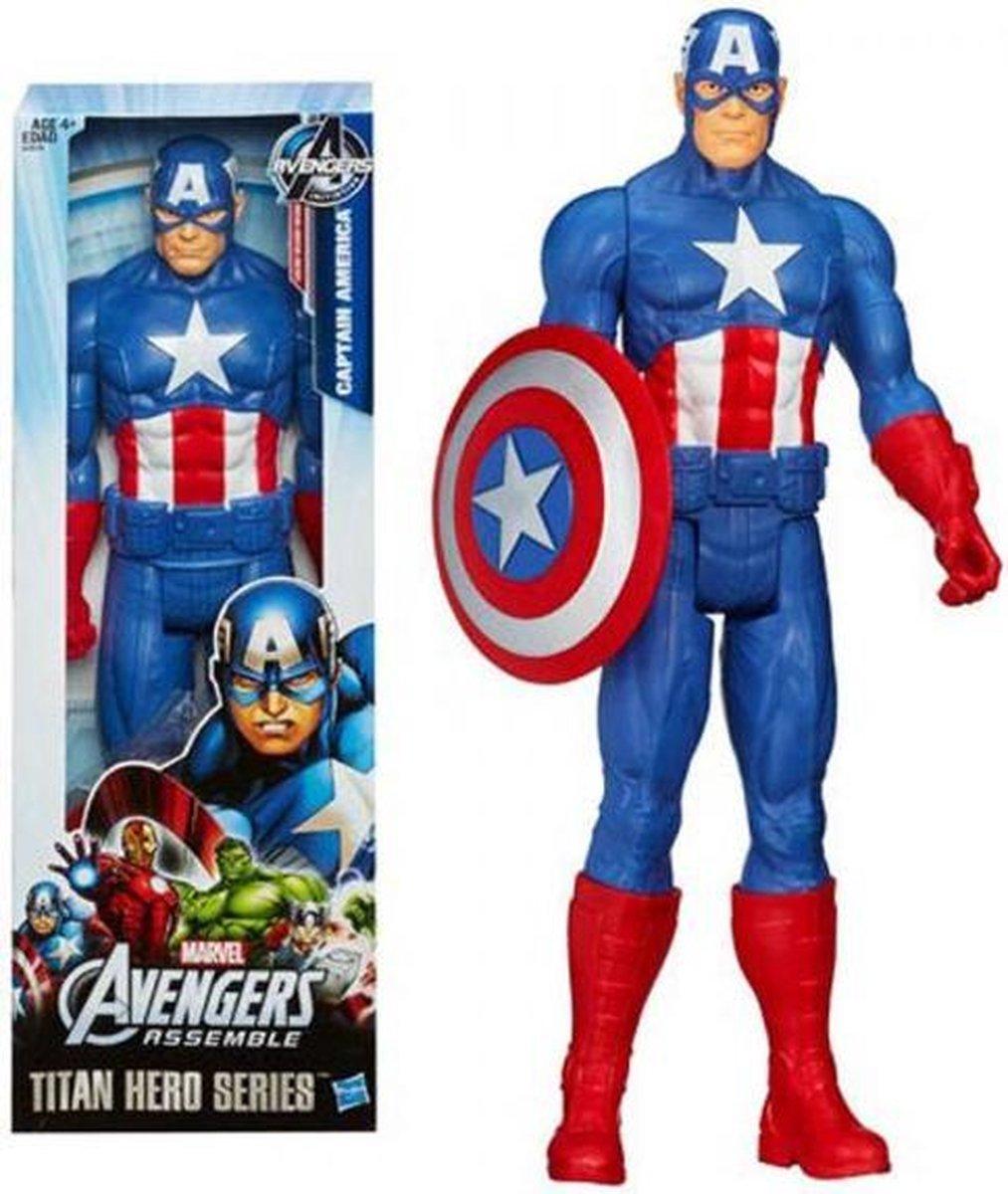 Hasbro Captain America Titan Hero Series