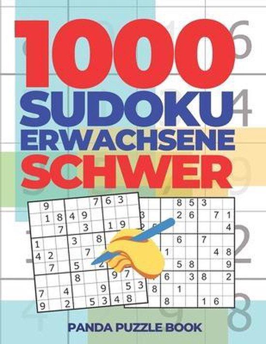 1000 Sudoku Erwachsene Schwer