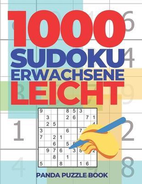 1000 Sudoku Erwachsene Leicht